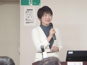 横山先生による講演